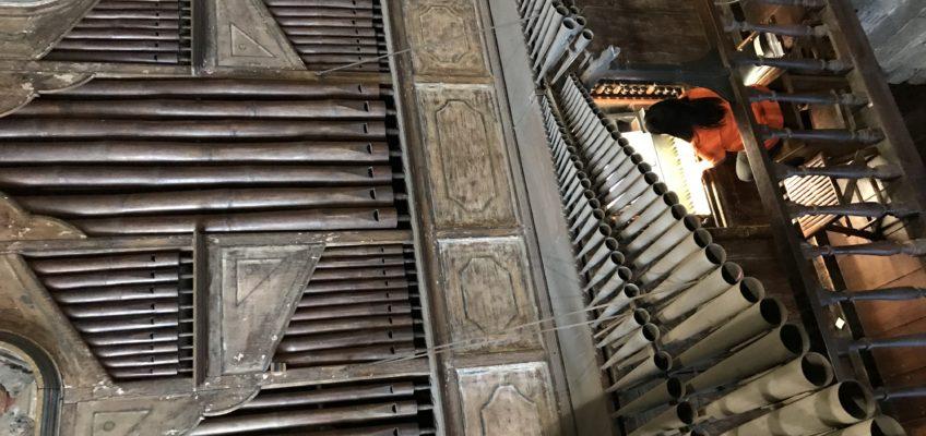 世界最古のバンブーパイプオルガン